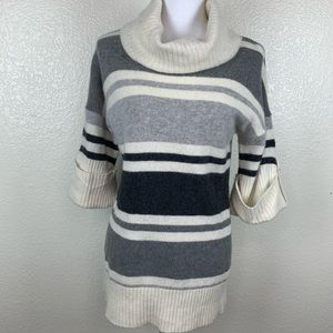 Kenar wool / angora sweater pullover cowl neck